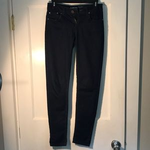 Size 5 junior skinny jeans dark wash